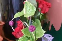 centros de flor natural para casa